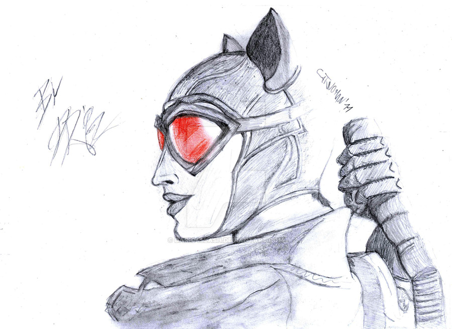 Cat Woman Drawing at GetDrawings.com   Free for personal use Cat ...