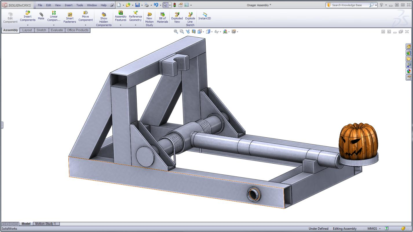 1426x801 Maximize Your Punkin' Chunkin' Catapult With Solidworks Simulation