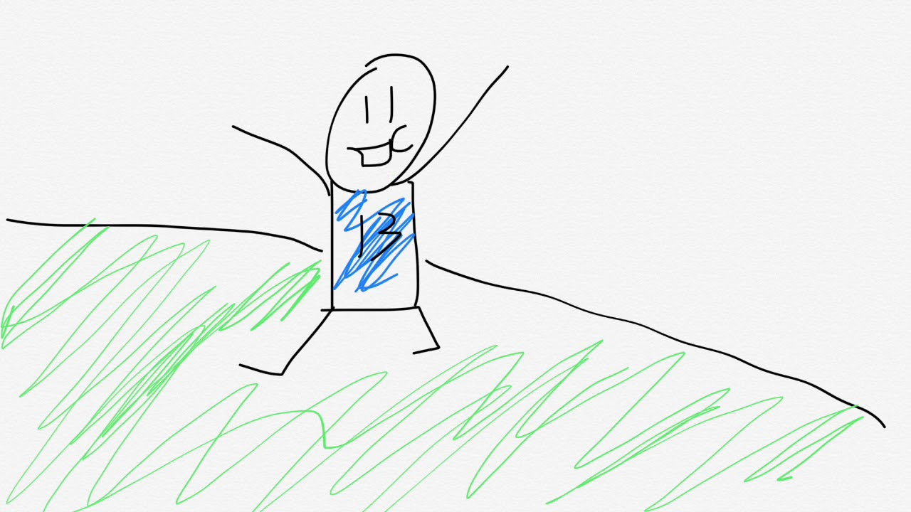1280x720 Odell One Handed Catch Drawing