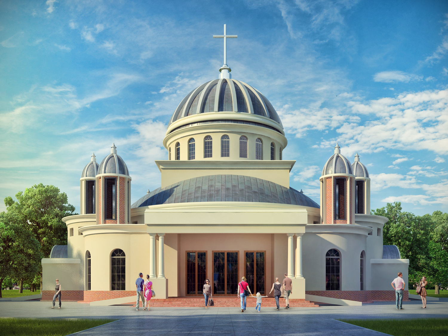 1500x1125 Architectural Detailing For The Catholic Church In Uganda Smart