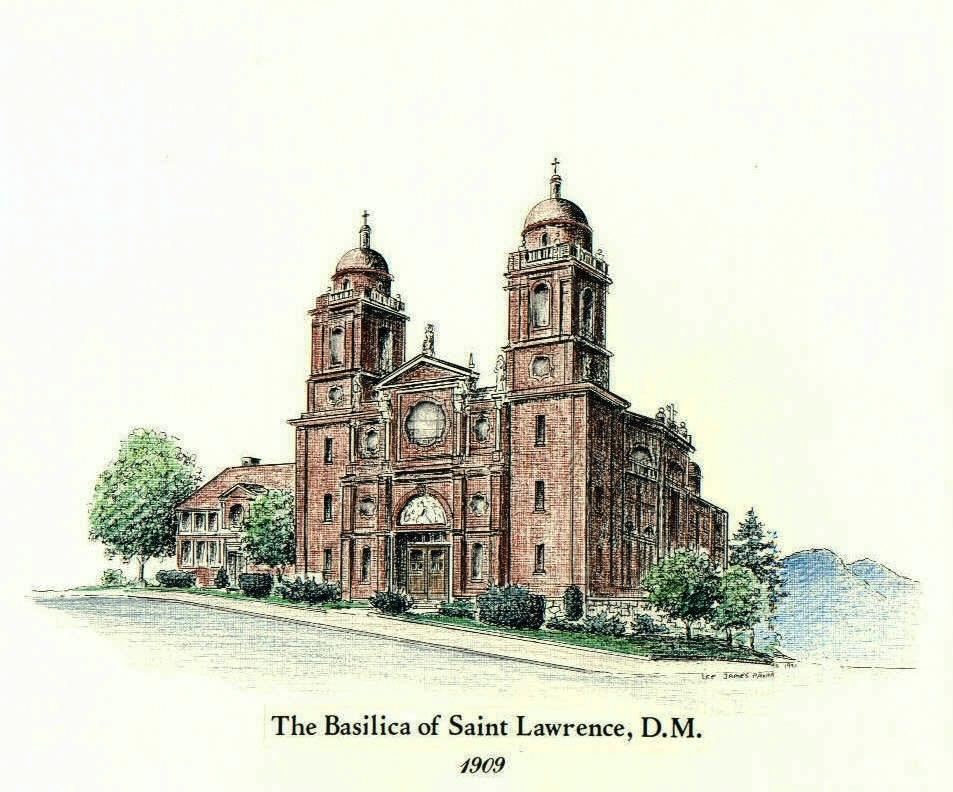 953x792 Catholic Church Drawing