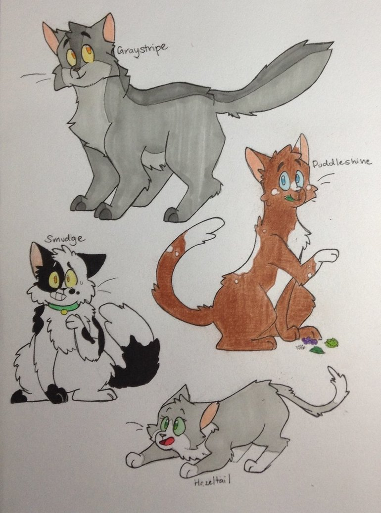770x1038 Warrior Cats Drawings 4 By Thesaltypretzel