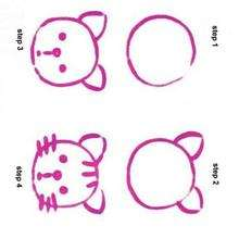 220x220 How To Draw A Cat For Kids