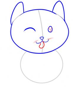 247x302 How To Draw How To Draw A Cat For Kids