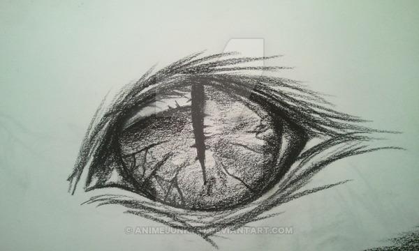 600x360 Cheshire Cat Eye By Damentattoos