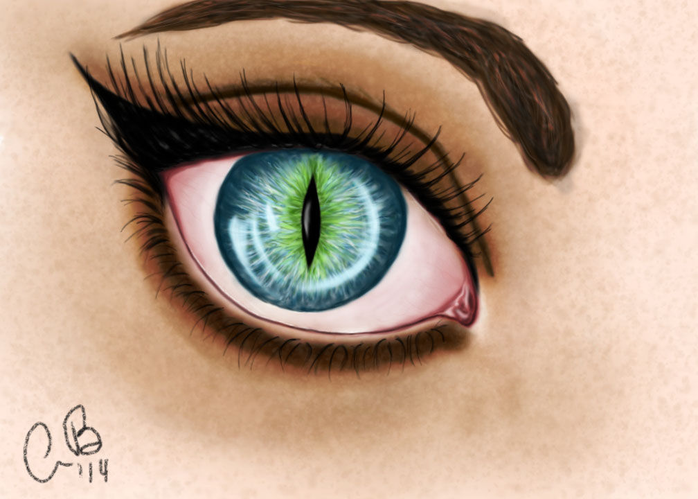 cats eye drawing at getdrawings com free for personal use cats eye