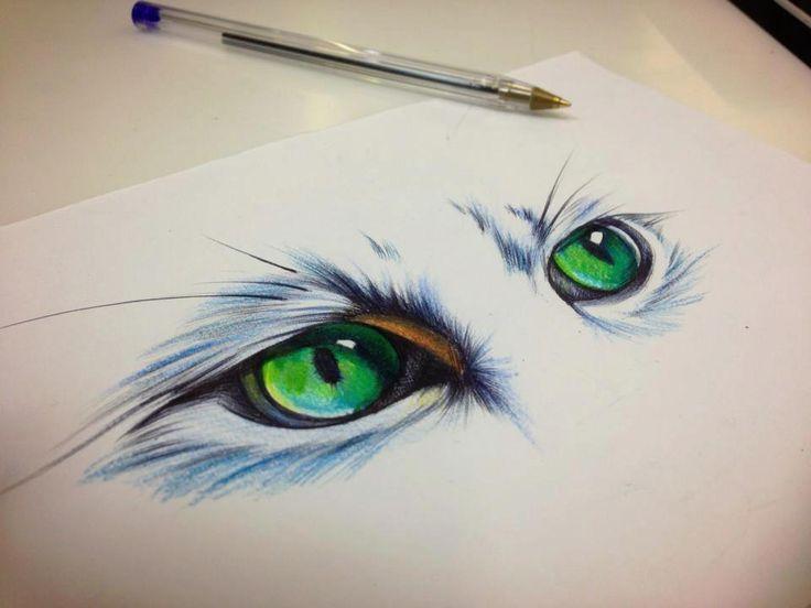 736x552 Cat Eye Tattoo Designs Elaxsir