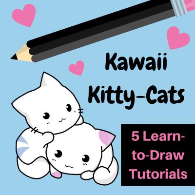 400x400 Learn To Draw Kawaii Cats