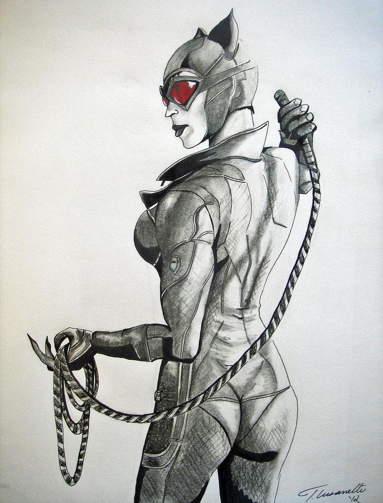 781x1024 Arkham City Catwoman By Cust0m
