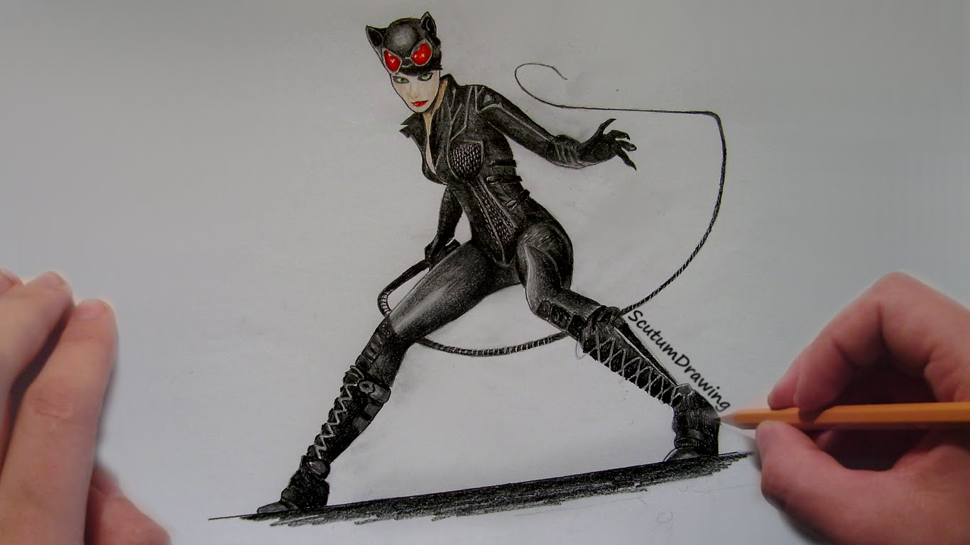 1366x768 Catwoman