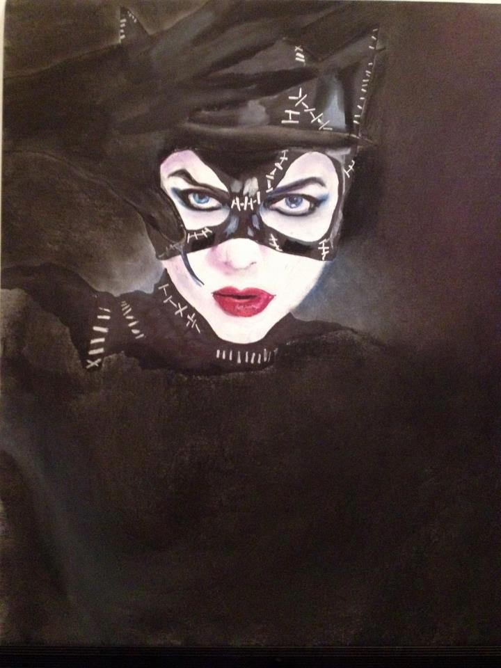 720x960 Catwoman Drawing By Jamescox1996