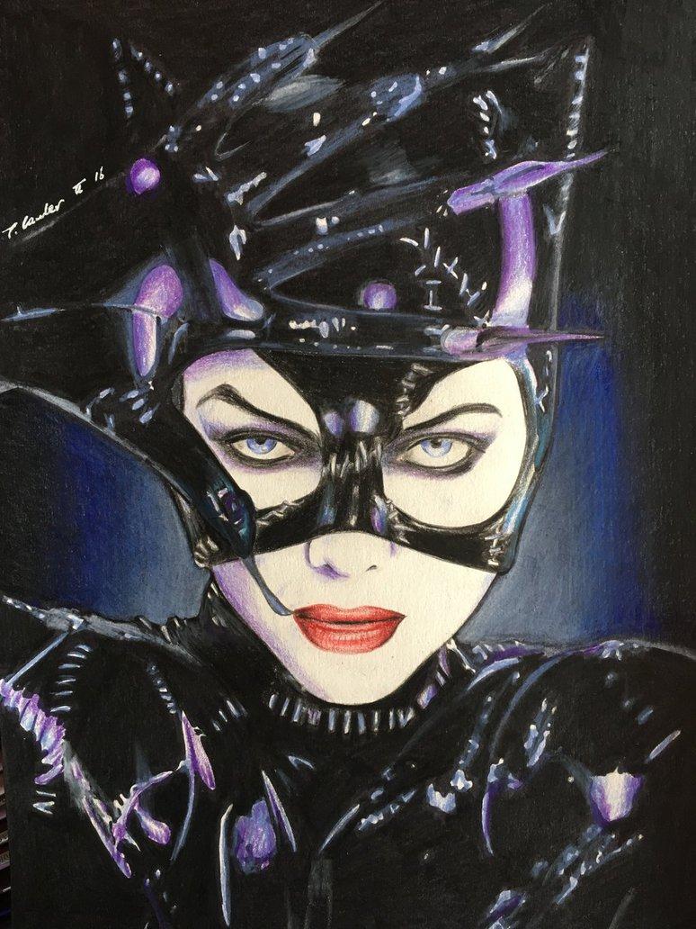774x1032 Michelle Pfeiffer Drawing Catwoman Batman Returns By Billyboyuk