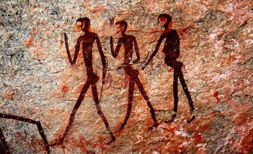 820x500 Reductress Cave Painting Shows Woman Moving Pile Of Clothes