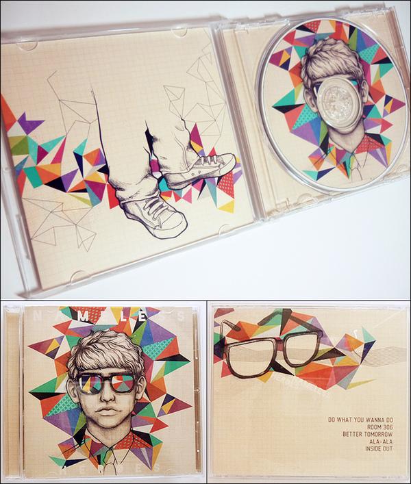 600x707 Album Covers By Soleil Ignacio, Via Behance (Click The Link They