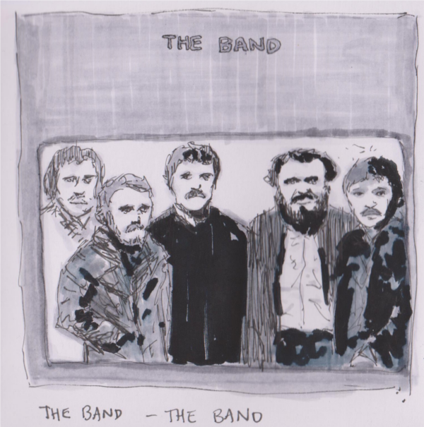 600x605 Hand Drawn Album Covers Illustrations Of Records, Cds And Singles