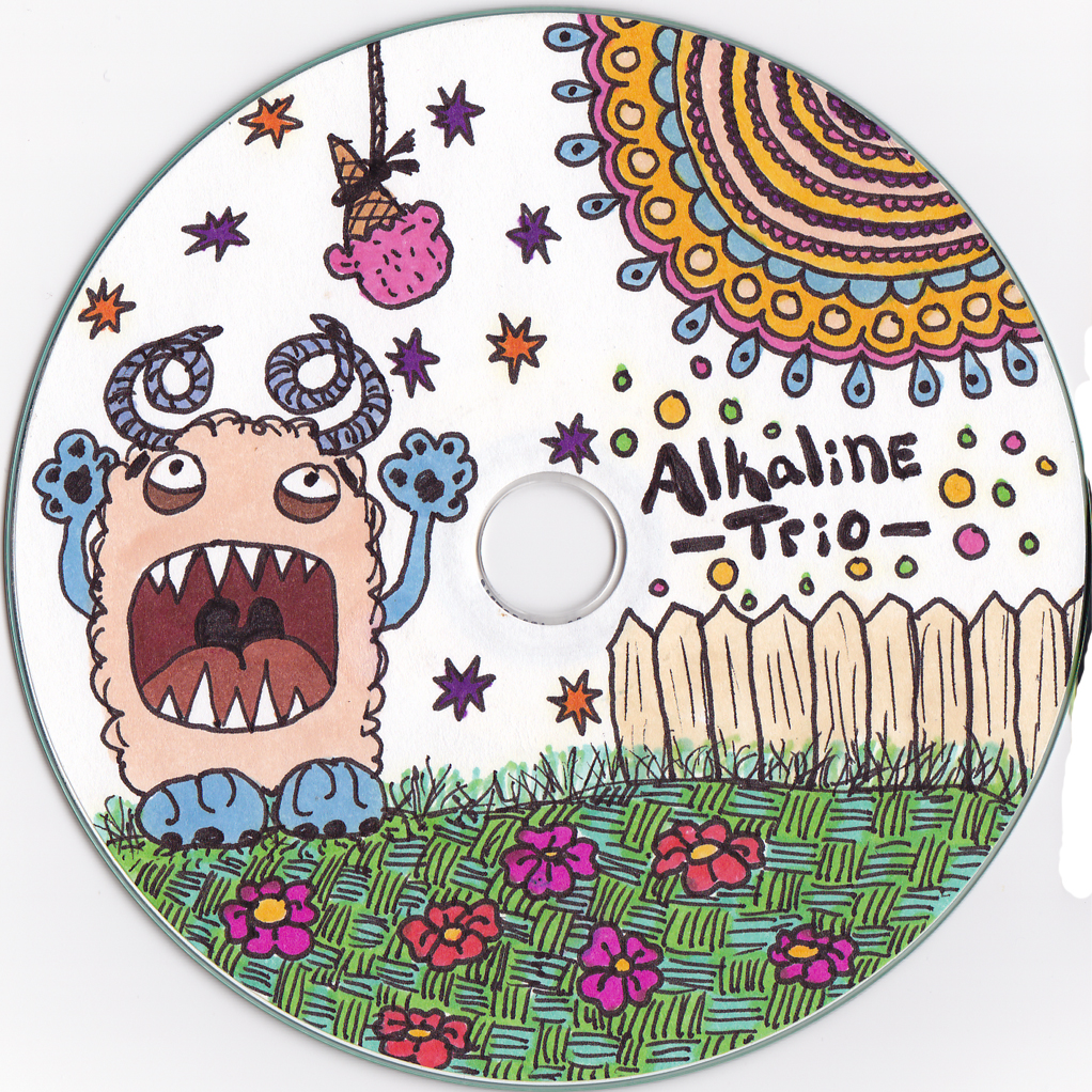 1022x1022 Cd Label Drawing Kelly Caroline