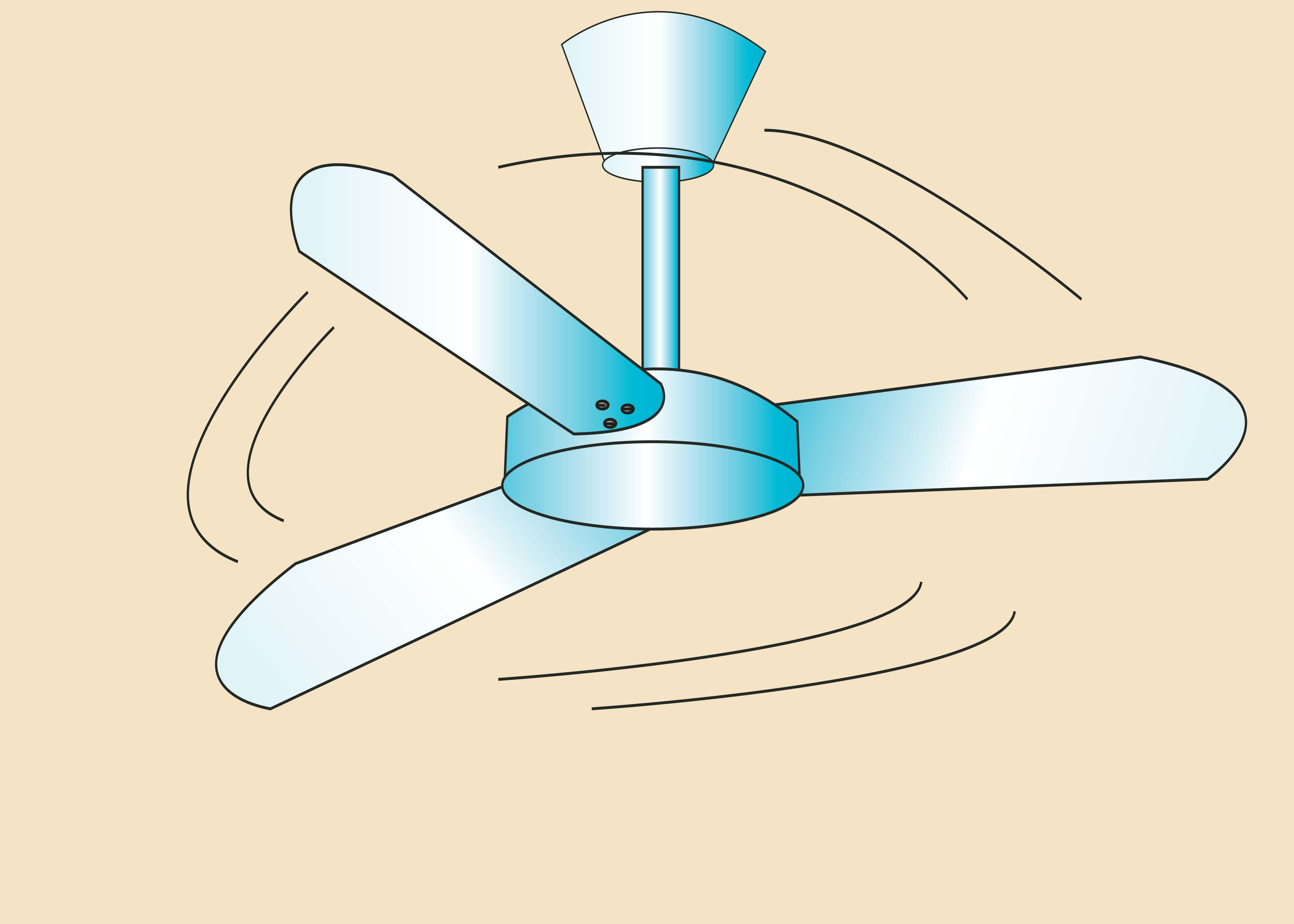 3500x2500 Ceiling Fan Drawing