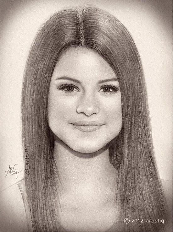 550x739 45 Stunning Traditional Art Pencil Drawings Of Famous Celebrities