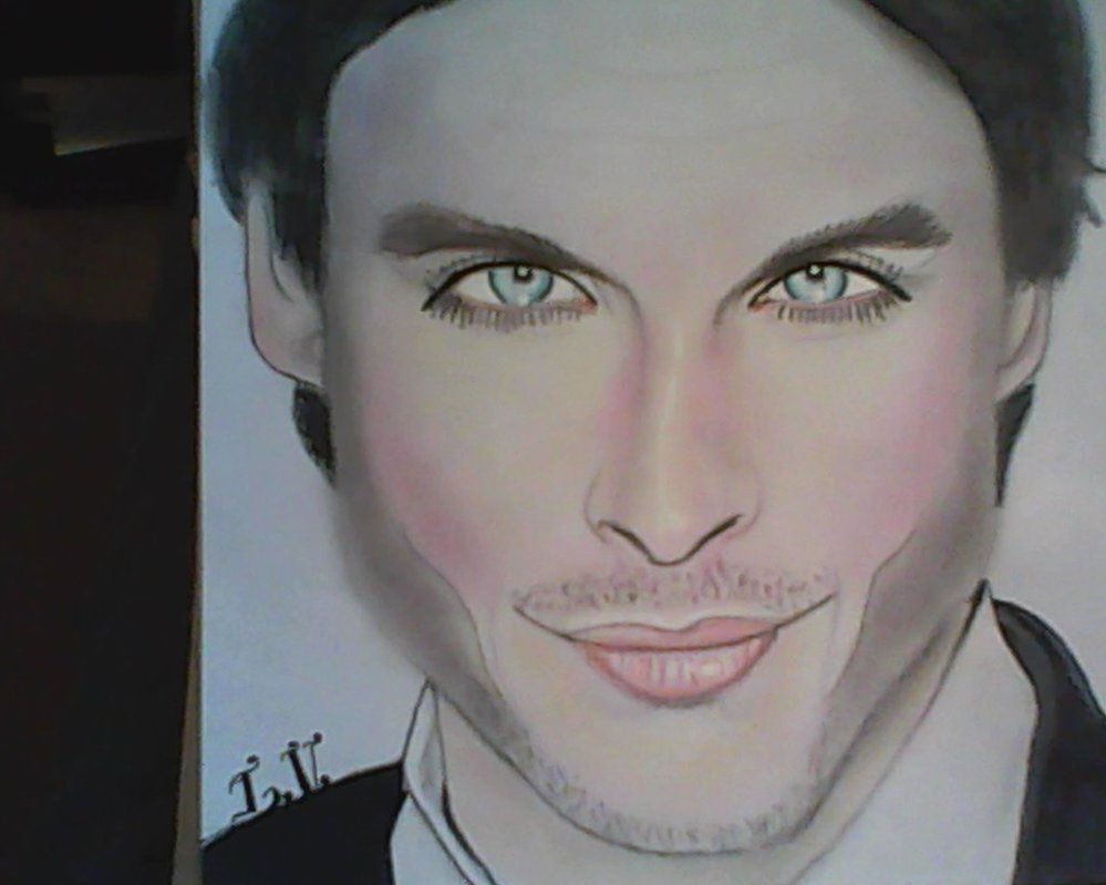 999x799 Celebrity Drawing Ian Somerhalder By Mollie2755