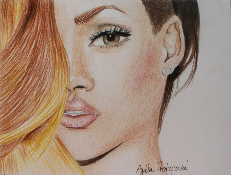 800x608 Celebrity Drawings By Agata Prokopova Young Drawings