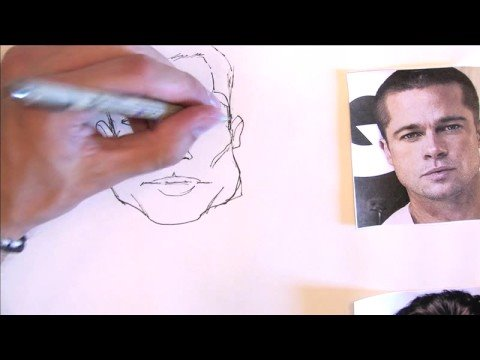 480x360 Illustration Amp Drawing Tips How To Draw Celebrities