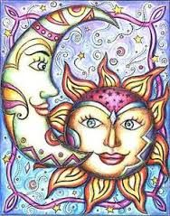 188x239 Image Result For Sun And Crescent Moon Drawings Celestial