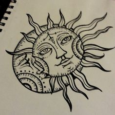 236x236 You'Re The Sun And The Moon And All The Stars (Beauty Face Sketch