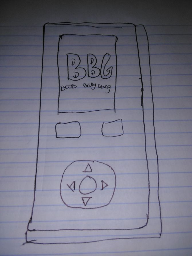 670x893 How To Draw A Cell Phone 6 Steps (With Pictures)