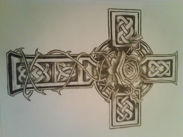 640x480 Celtic Cross By Lewis3222