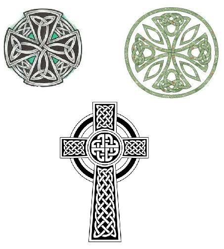 453x503 Celtic Cross Tattoos. I Like Top Right. But Want It To Be Longer