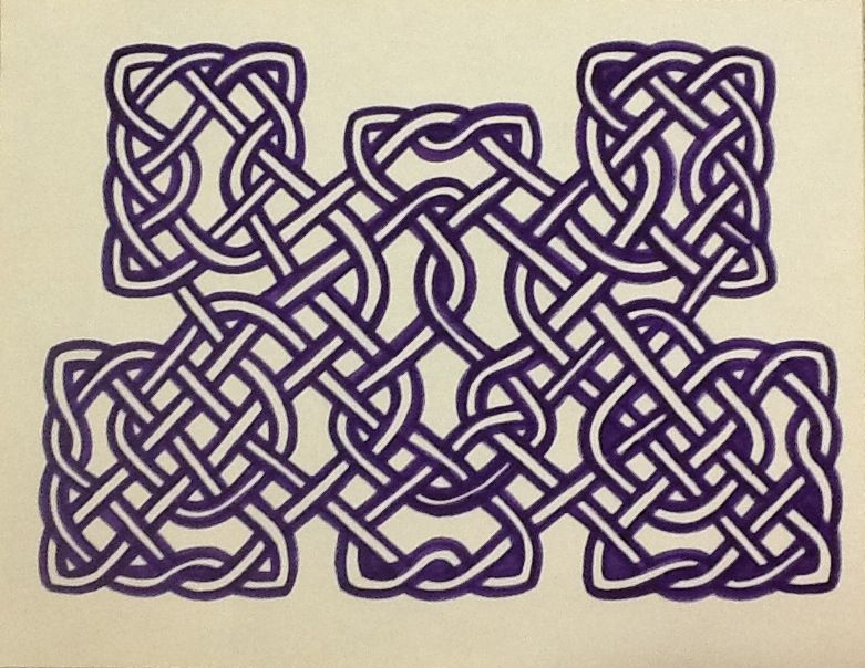 781x604 How To Draw Celtic Knot Work 5 Steps