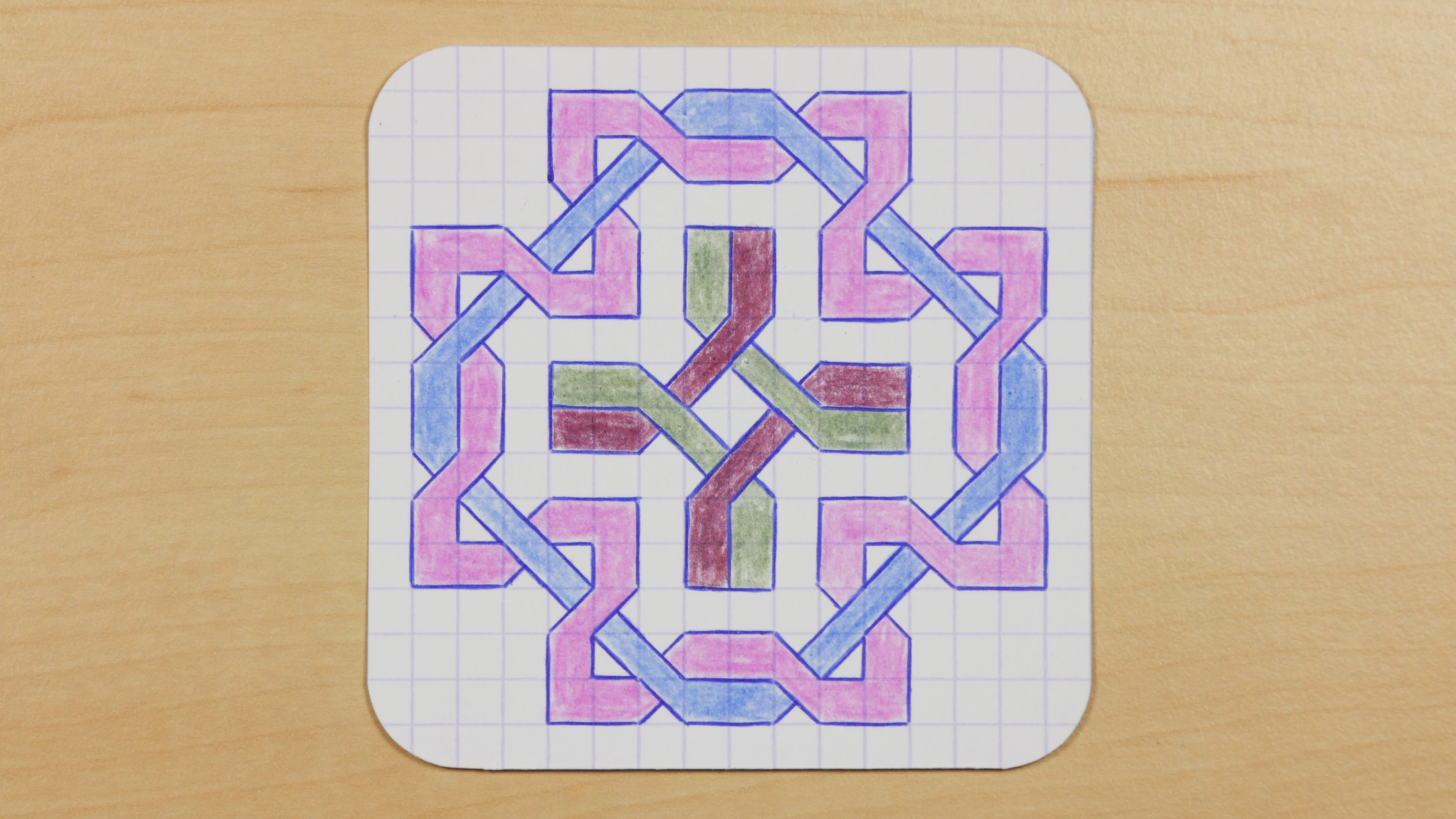 3840x2160 How To Draw Graph Paper Knots
