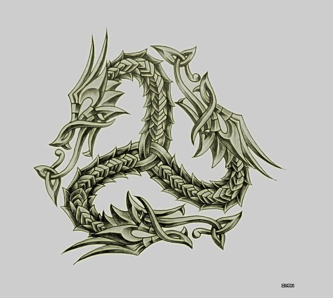 659x591 Celtic Dragon Dragons Celtic In Style Celtic