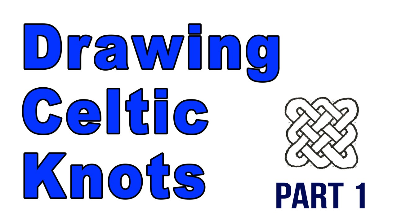 1280x720 Drawing Celtic Knots Step By Step Part 1