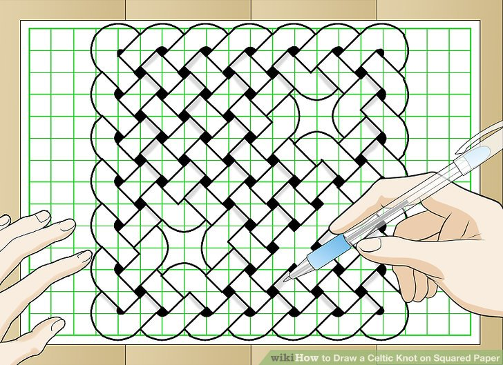 728x529 How To Draw A Celtic Knot On Squared Paper (With Pictures)