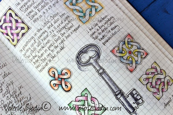 600x400 Key To Drawing Celtic Knots! Made Easy! Valerie Sjodin