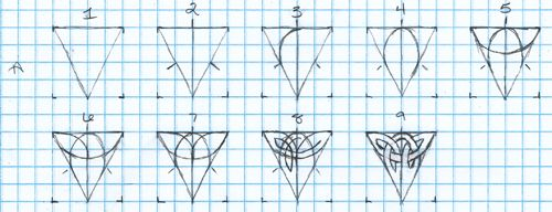 500x192 Celtic Knot Drawing Tutorial Design And Art Celtic