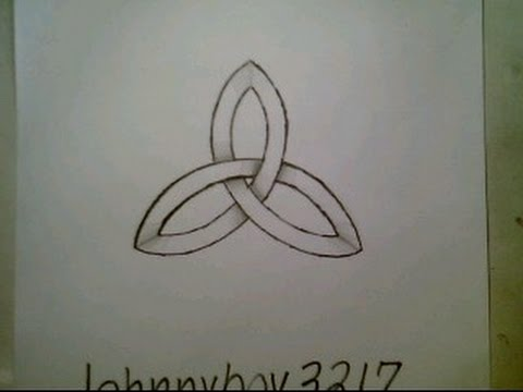 480x360 How To Draw Celtic Knot Ancient Symbol Impossible Shape Easy Step