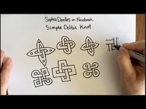 480x360 Simple Celtic Knot Work Pattern (Doodle, Easy, Knotwork, Zentangle