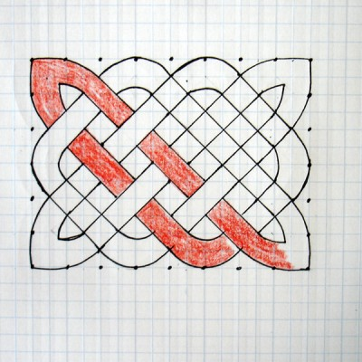 400x400 How To Draw A Celtic Knot Pattern Celtic Knot Designs, Celtic