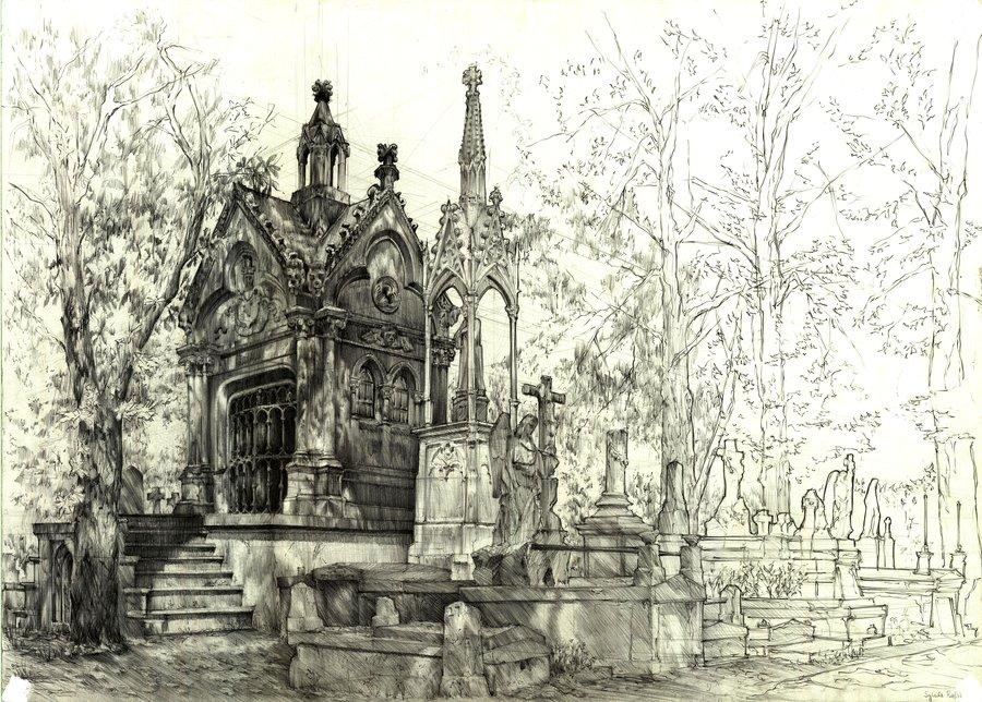 900x644 Cemetery By Zw1138