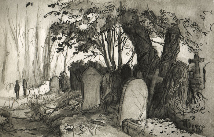 700x449 Karlsimon Another Cemetery Sketch