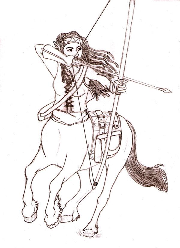 600x824 Draw A Centaur Day By Kindii