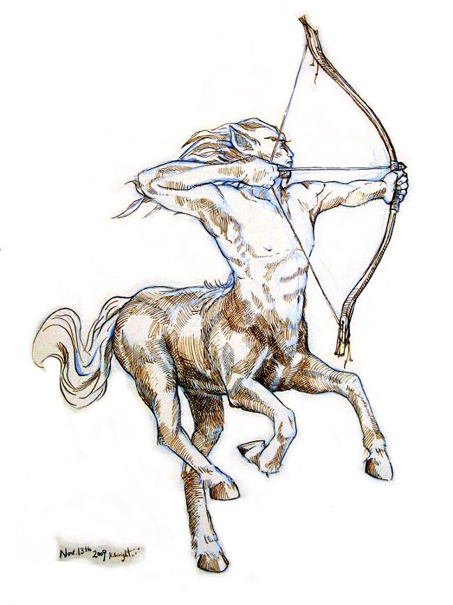 650x867 Nddm 13 Centaur By Drawingformonkeys