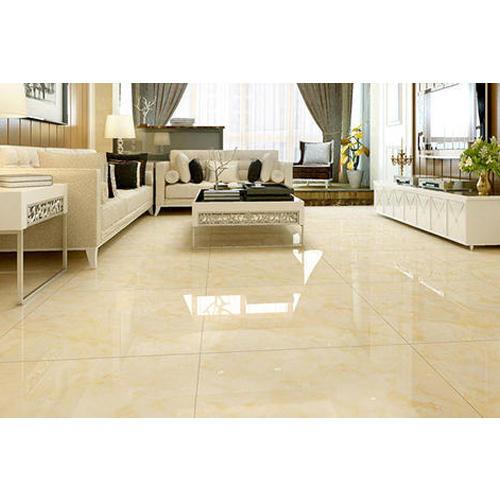 500x500 Drawing Room Glossy Ceramic Floor Tile
