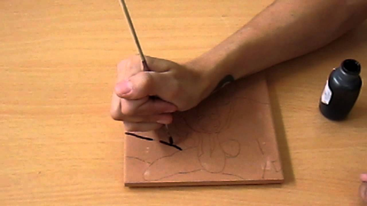 1280x720 How To Paint A Ceramic Tile