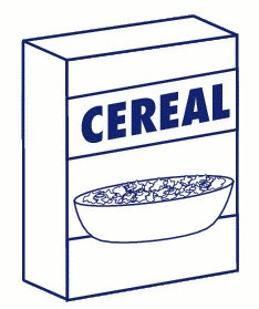 234x279 Cereal Clipart Cereal Box