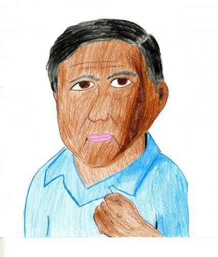 427x503 Cesar Chavez My Hero