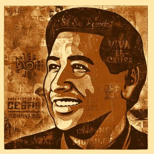500x500 Omg Posters! Archive Cesar Chavez Day Art Print By Ernesto