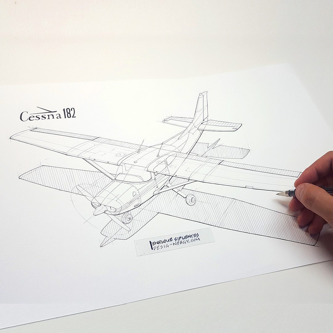 Cessna 182 Drawing At Free For Personal Use 150 Wiring Diagram 1080x1080 Enrique Sifuentes On Twitter